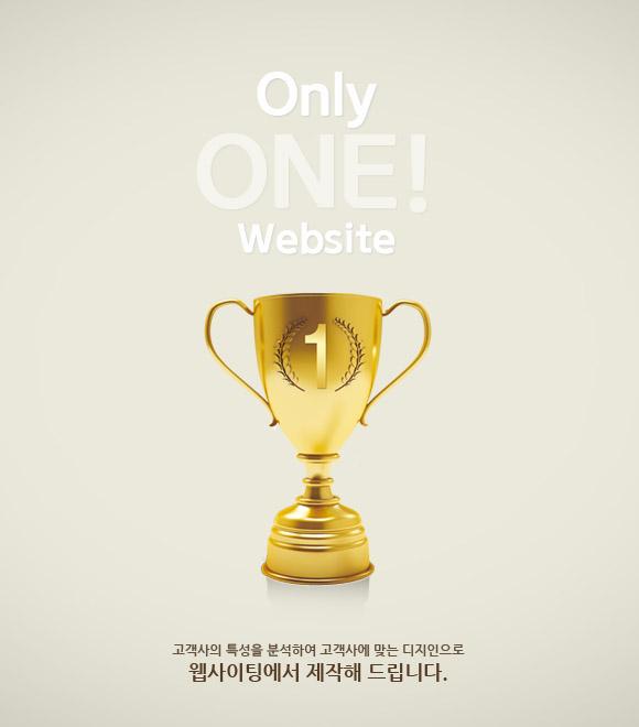 맞춤 홈페이지<br />Only one website