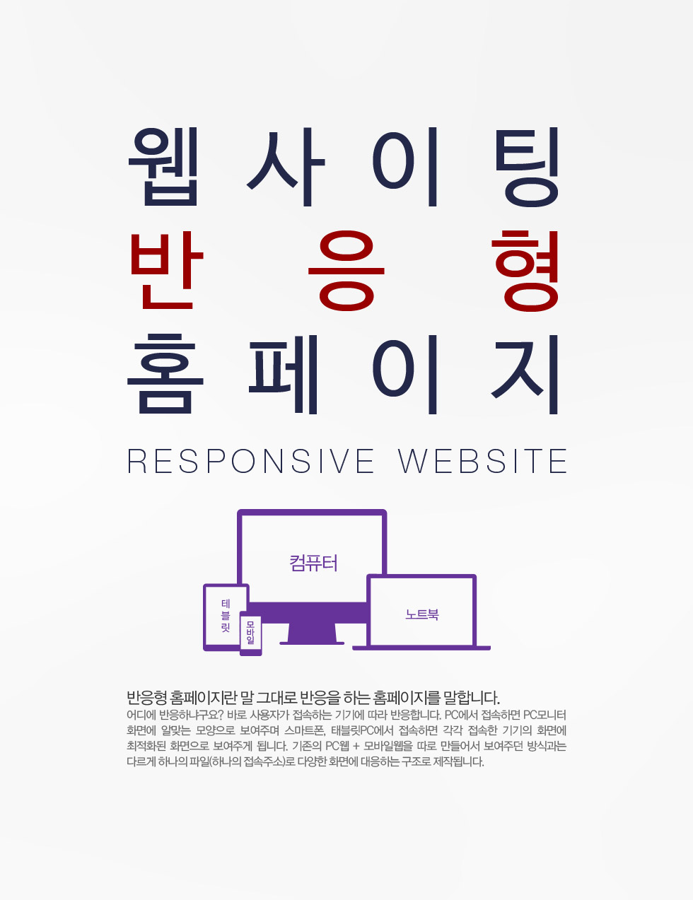 Responsive website by WEBsiting
